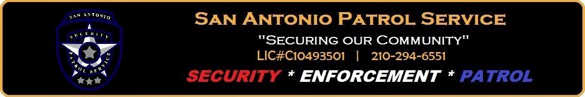 San Antonio Patrol Service